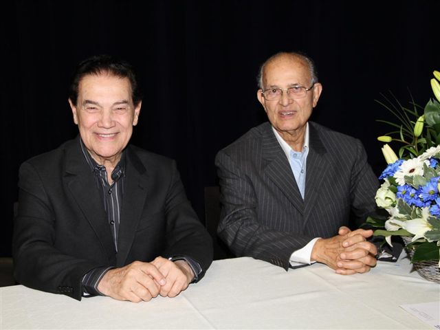 Divaldo Franco and Nilson Pereira.